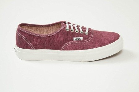 Buty Vans AUTHENTIC SLIM (Stripes) washedtawny port