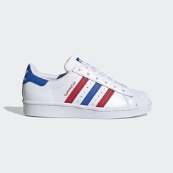 BUTY ADIDAS SUPERSTAR (FW5851) CLOUD WHITE / BLUE / SCARLET