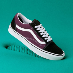 BUTY VANS COMFYCUSH OLD SKOOL (Black/Prune/True White)