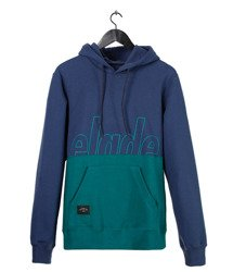 Bluza Elade HOODY TWO TONE Blue/Ocean Green
