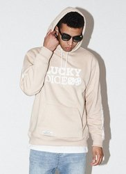 Bluza Lucky Dice HOODIE CLASSIC PJP (BEIGE)