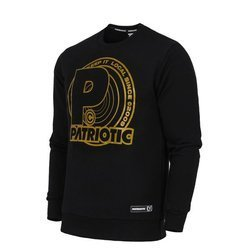 Bluza Patriotic GOLD DISC Black