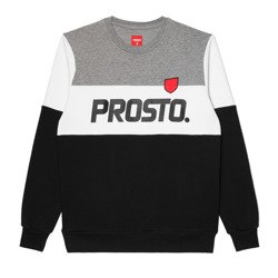 Bluza Prosto LAY GREY/BLACK