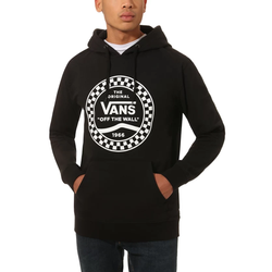 Bluza Vans Hoody CHECKERED SIDE STRIPE FRONT black