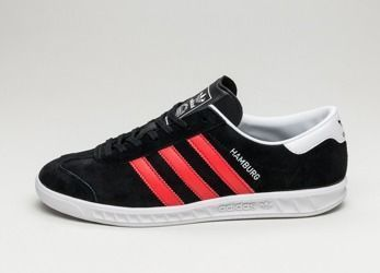 Buty Adidas Hamburg BB5300 Core Black/Red