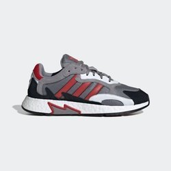 Buty Adidas TRESC RUN (EF0765) Grey Three / Scarlet / Core Black
