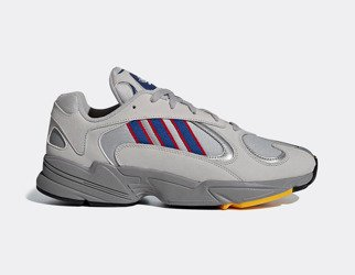 Buty Adidas YUNG-1 (CG7127) GREY TWO/COLLEGIATE ROYAL/SCARLET