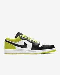 Buty Air Jordan 1 Low SE (CK3022-003) Black/White-Cyber Green