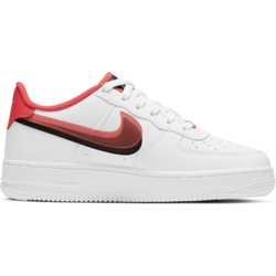 Buty Nike Air Force 1 (CW1574-101) WHITE/BRIGHT CRIMSON-BLACK
