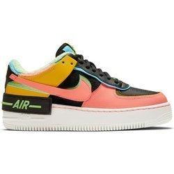 Buty Nike Air Force 1 Shadow SE (CT1985-700) SUMMIT WHITE/SUMMIT WHITE-BLACK