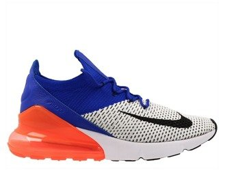 "Buty Nike Air Max 270 Flyknit Racer ""Blue Total Crimson"" AO1023 101"