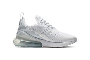Buty Nike Air Max 270 GS (943345-103) WHITE/WHITE-METALLIC SILVER