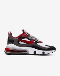 Buty Nike Air Max 270 REACT (CI3866-002) BLACK/UNIVERSITY RED - WHITE