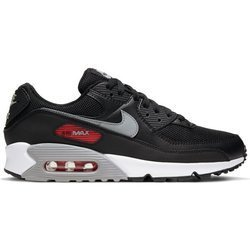 Buty Nike Air Max 90 (CW7481-002) BLACK/PARTICLE GREY-UNIVERSITY RED