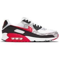 Buty Nike Air Max 90 (DJ0639-100) WHITE/UNIVERSITY RED-BLACK