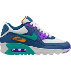 Buty Nike Air Max 90 Leather GS (833412-410) Gym Blue/Neptune Green