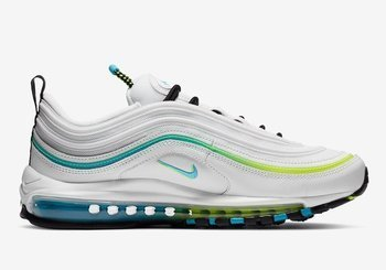 "Buty Nike Air Max 97 ""Worldwide Pack"" (CZ5607-100) White/Blue Fury/Black/Volt"