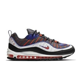 Buty Nike Air Max 98 (640744-012) Gunsmoke / Team Orange - Laser Orange - White
