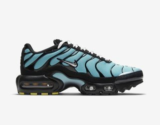 Buty Nike Air Max Plus (CD0609-405) Aqua/Black/White/Metallic Silver
