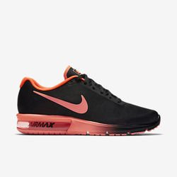 Buty Nike Air Max Sequent 719912-012 (Black / Total Crimson)