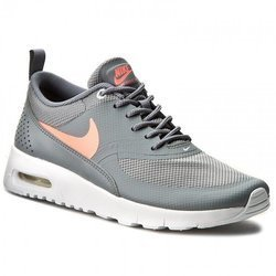 Buty Nike Air Max Thea GS 814444-007 Cool Grey/Lava Glow