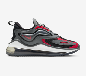 Buty Nike Air Max ZEPHYR (CV8837-003) SMOKE GREY/SIREN RED/BLACK