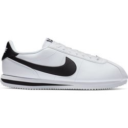 Buty Nike Cortez Basic Leather (819719-100) WHITE/BLACK-METALLIC SILVER