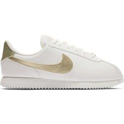 Buty Nike Cortez Basic SL GS 904764-105 Summit White/Metallic Gold