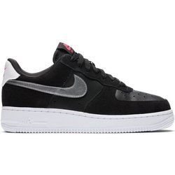 Buty Nike WMNS Air Force 1 '07 (DA4282-001) BLACK/METALLIC SILVER-WHITE-PINK BLAST