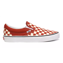 Buty Vans CHECKERBOARD CLASSIC SLIP-ON Picante/True White