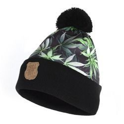 Czapka Zimowa Chillout Clothes Love Weed