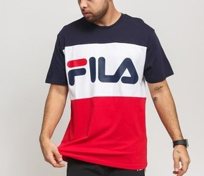 KOSZULKA FILA MEN DAY TEE (681244-R69) True Red/Black Iris/ Bright White