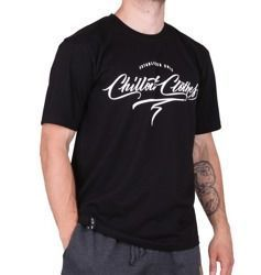 Koszulka Chillout Clothes Calligraphy Black