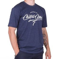 Koszulka Chillout Clothes Calligraphy navy