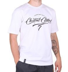 Koszulka Chillout Clothes Calligraphy white