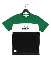 Koszulka Elade COLOUR BLOCK GREEN/WHITE/BLACK