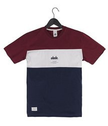 Koszulka Elade COLOUR BLOCK MAROON/WHITE/NAVY