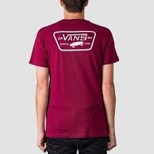 Koszulka Vans FULL PATCH BACK Rumba Red