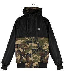 Kurtka Elade RAINFOREST SUMMER JACKET BLACK/CAMO 21