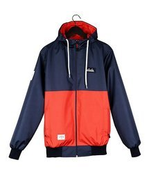 Kurtka Elade RAINFOREST SUMMER JACKET NAVY BLUE/RED
