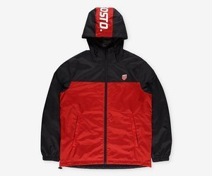 Kurtka Prosto WINDRUNNER RED