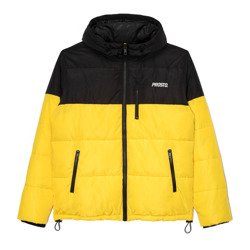 Kurtka Prosto WINTER ADAMENT BLACK & YELLOW