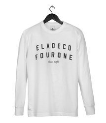 LONGSLEEVE ELADE FOURONE WHITE