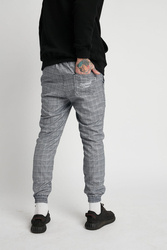 Spodnie DIAMANTE WEAR Jogger  'Diamante Crew' Jasna Krata Navy