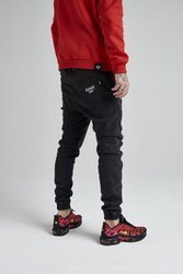 Spodnie DIAMANTE WEAR Jogger  'Diamante Crew' Ripped Black Jeans
