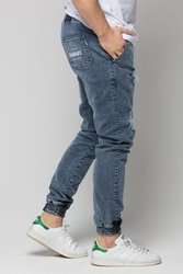 Spodnie DIAMANTE WEAR Jogger  'Diamante Crew' Ripped Blue Jeans