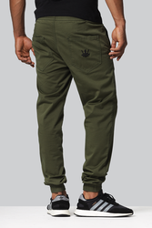 Spodnie Jigga Wear JOGGER CROWN FOREST
