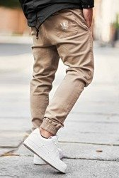 Spodnie Jigga Wear Jogger Crown Beige