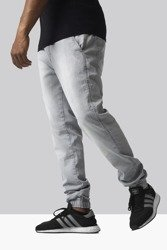 Spodnie Jigga Wear Jogger Light Grey Washed
