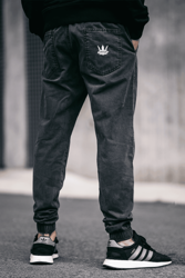 Spodnie Jigga Wear Jogger Washed Grey